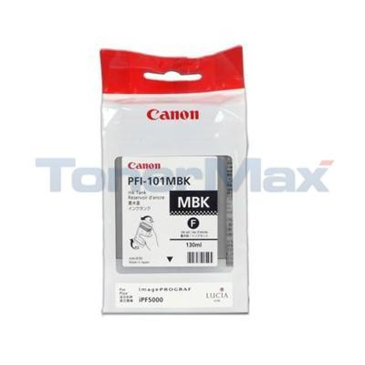 CANON PFI-101MBK INK TANK MATTE BLACK 130ML